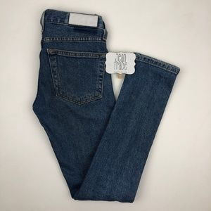 Re/Done Jeans - Re/Done Originals Low Rise Skinny Jeans